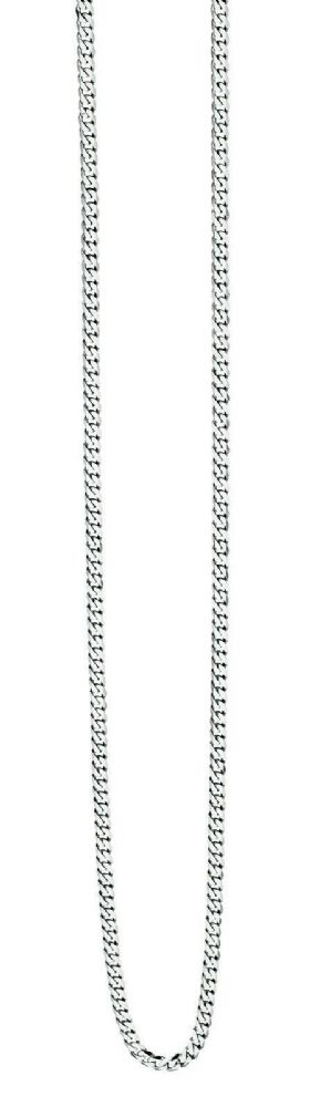 Fred Bennett Stainless Steel Diamond Cut Curb Chain